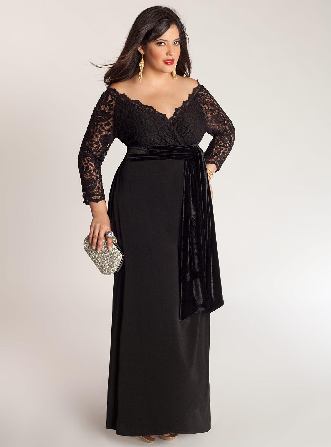 Платья Для Полных Женщин Вечерние Купить