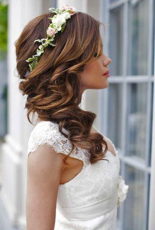 Модні весільні зачіски 2018 - весільні зачіски фотогалерея  06540b3a211a5