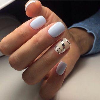 манікюр на малі нігті фото
