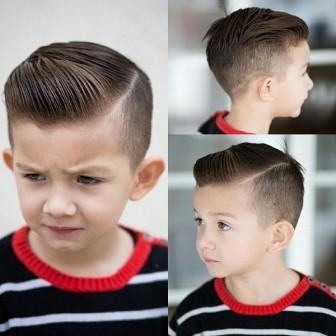 Хлопчачі стрижки - стрижки для хлопчиків 2018 багато фото  df683f6b79313