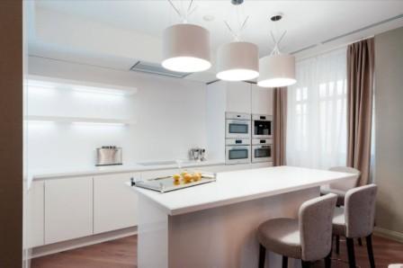 Сучасний дизайн кухні 9 м. кв м