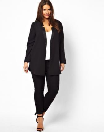 Брючні костюми великих розмірів для повних жінок  e671a5c7cc535