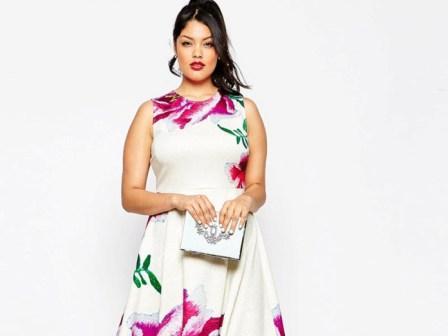 Плаття для повних жінок 2017  багато фото цікавих нарядів для повних дівчат   12a77ec39e243